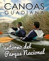 Canoas en el Guadiana (entorno Tablas de Daimiel)