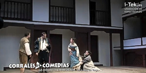 Teatro Corral de Comedias Discreta enamorada